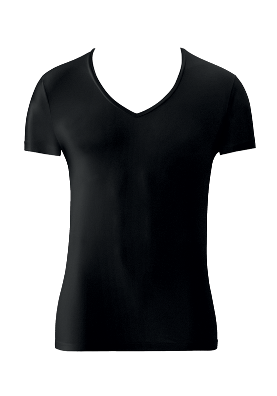 Micro Touch - V-neck T-shirt - HANRO