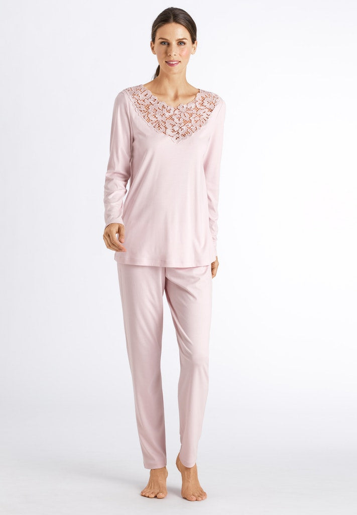 Najuma - Cotton Long Sleeved Pyjamas - HANRO