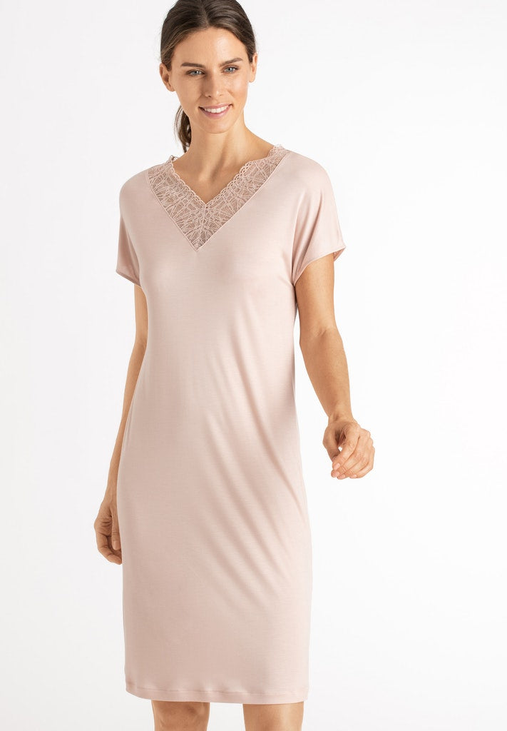 Imani - Short Sleeved Nightdress - HANRO