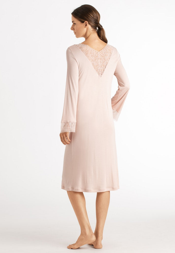 Imani - Long Sleeved Nightdress - HANRO
