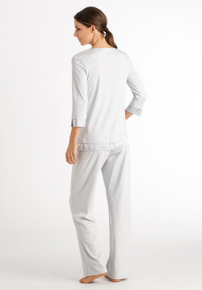 Lamia - Cotton Sleeved Pyjamas - HANRO