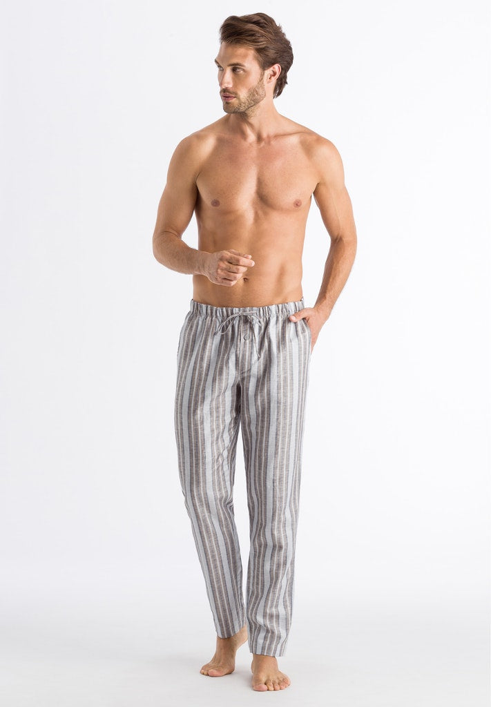 Night & Day - Linen Cotton Mix Pyjama Bottoms - HANRO