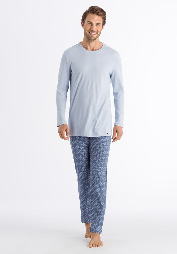 Night & Day - Long Sleeved Cotton Pyjamas - HANRO