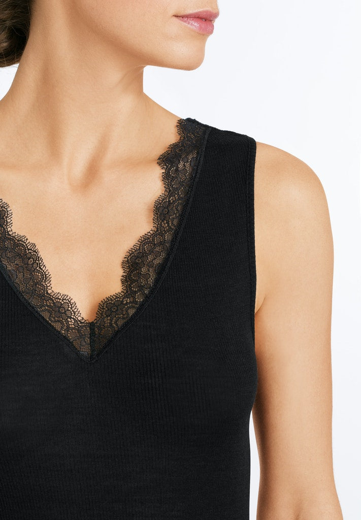 Woolen Lace - Sleeveless Top - HANRO