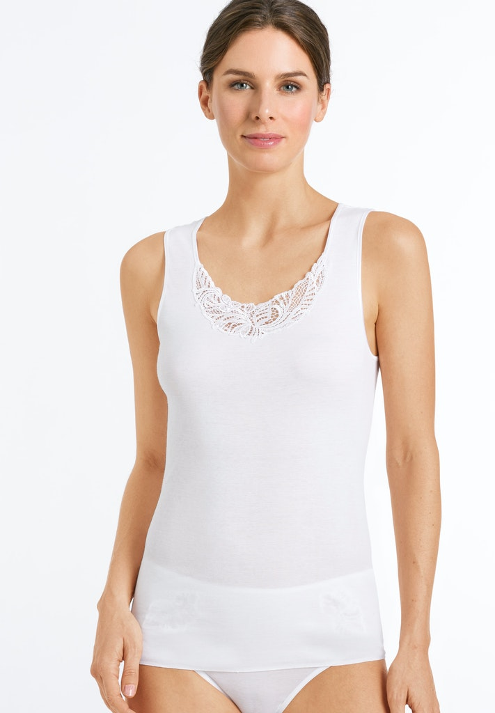 Madlen - Cotton Sleeveless Top - HANRO