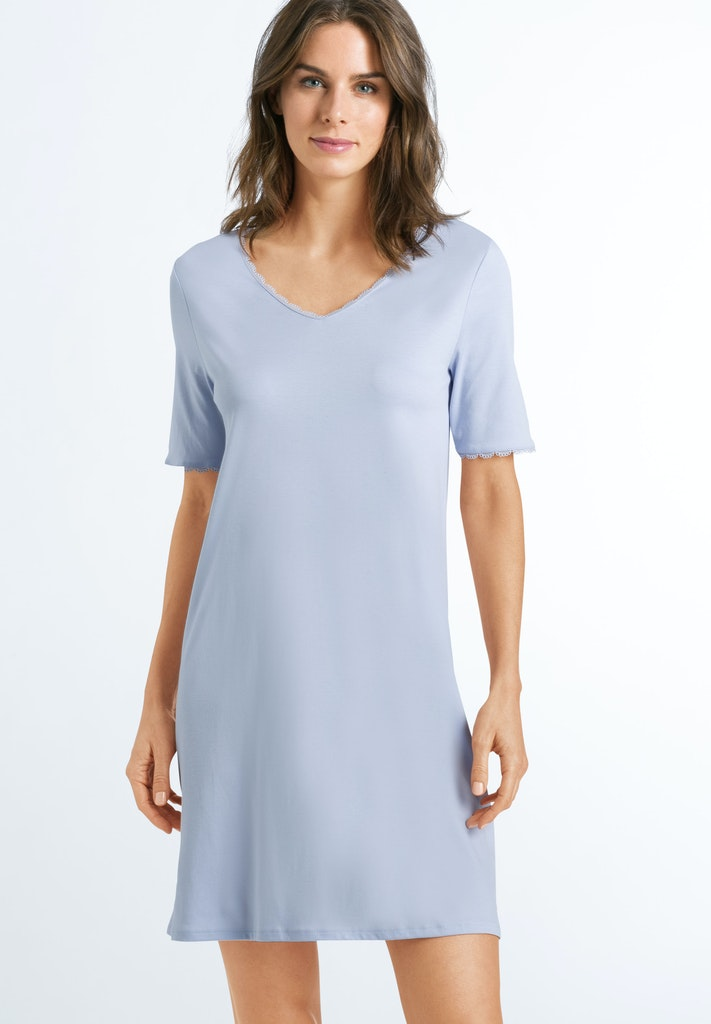 Bea - Cotton Short Sleeved Nightdress - HANRO