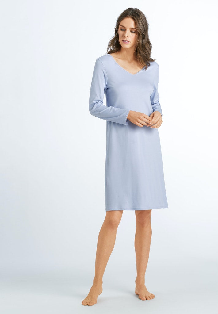 Bea - Cotton Long Sleeved Nightdress - HANRO