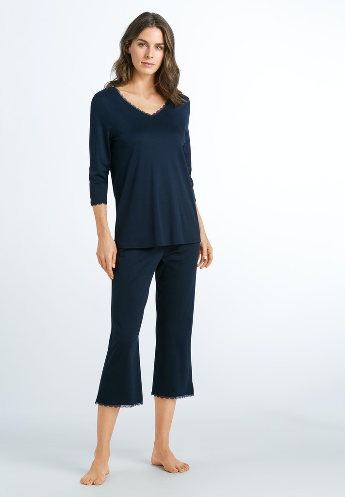 Bea - Cotton Cropped Pyjama - HANRO