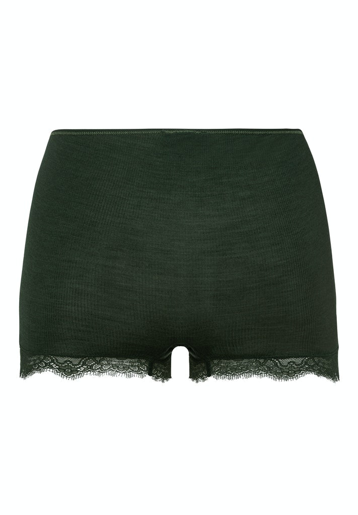 Woolen Lace - Long Leg Maxi Briefs