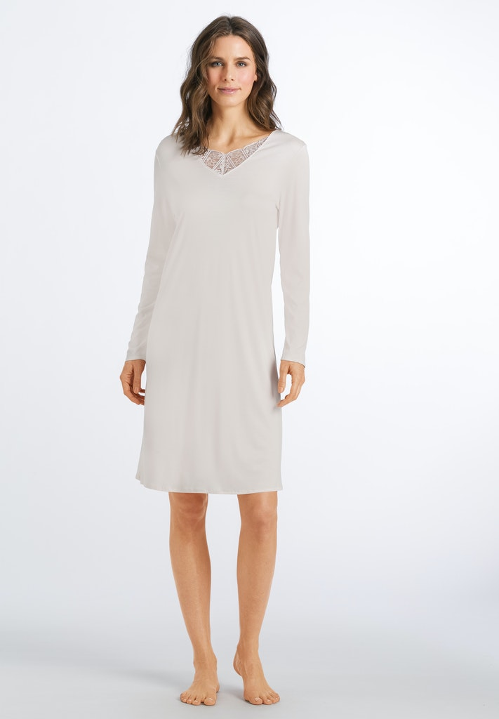 Wanda - Long Sleeved Nightdress 100cm - HANRO