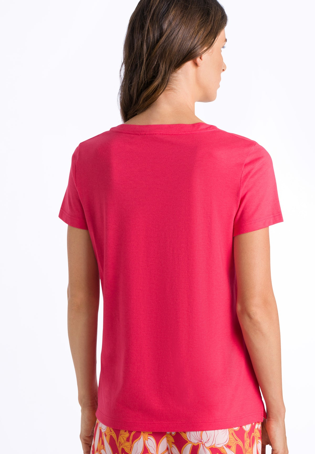 Sleep & Lounge - Cotton Mix Short Sleeved Top