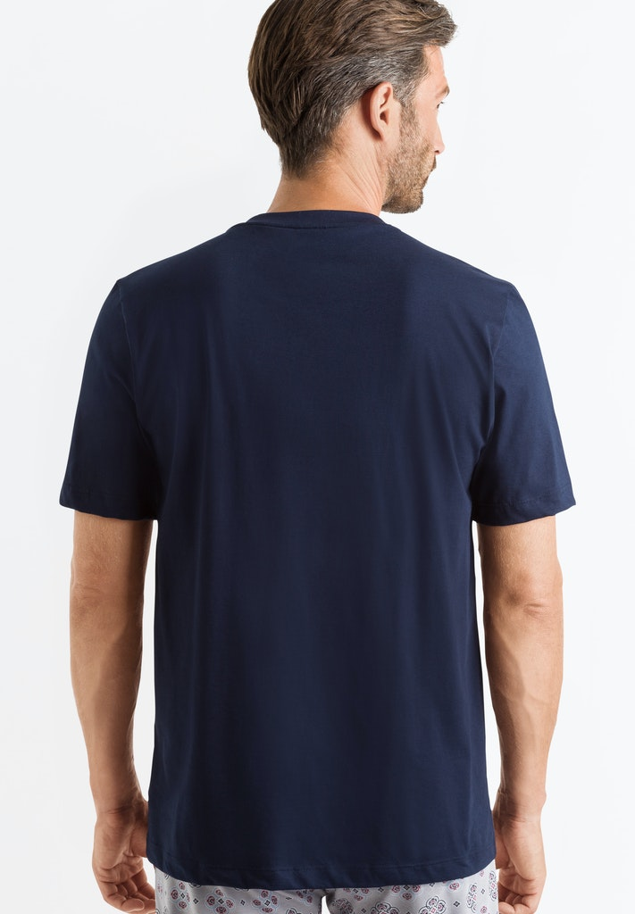 Living - Short Sleeved Henley Shirt