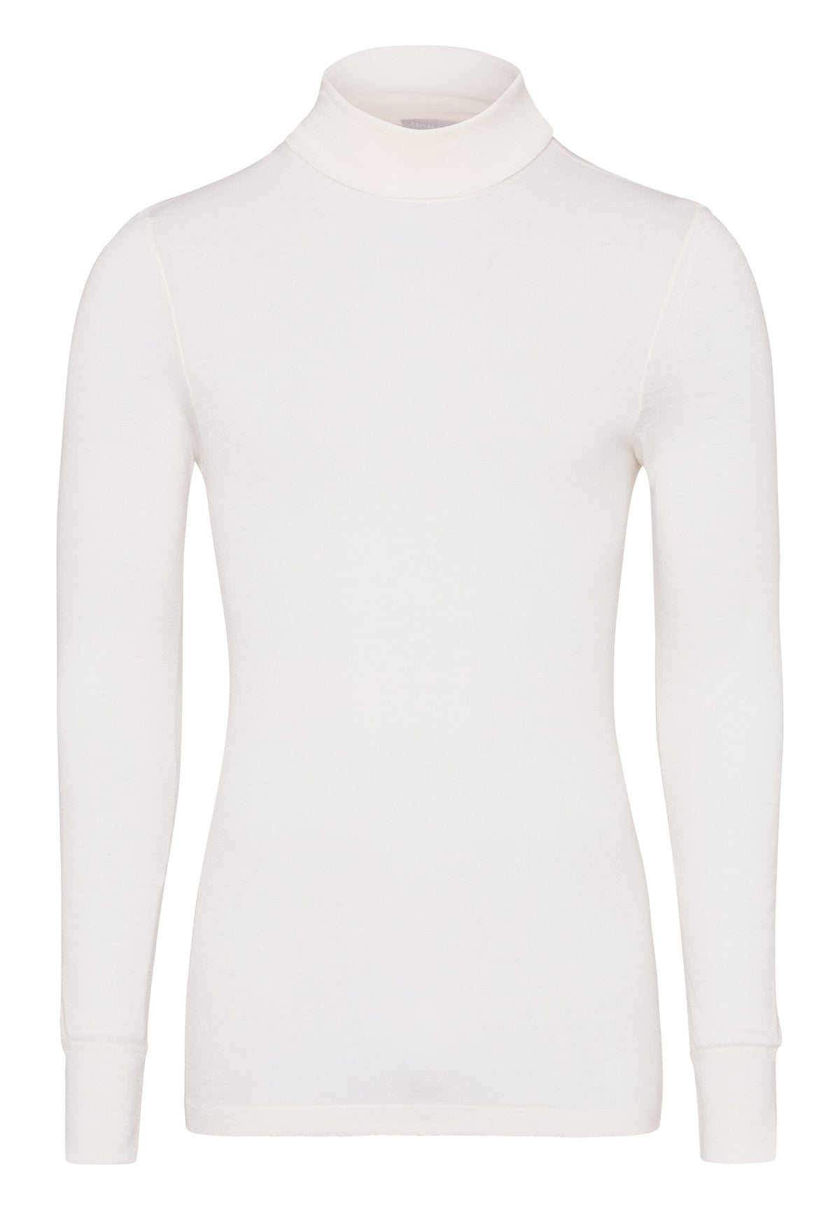Woolen Silk - Long-sleeved Turtle Neck Top - HANRO