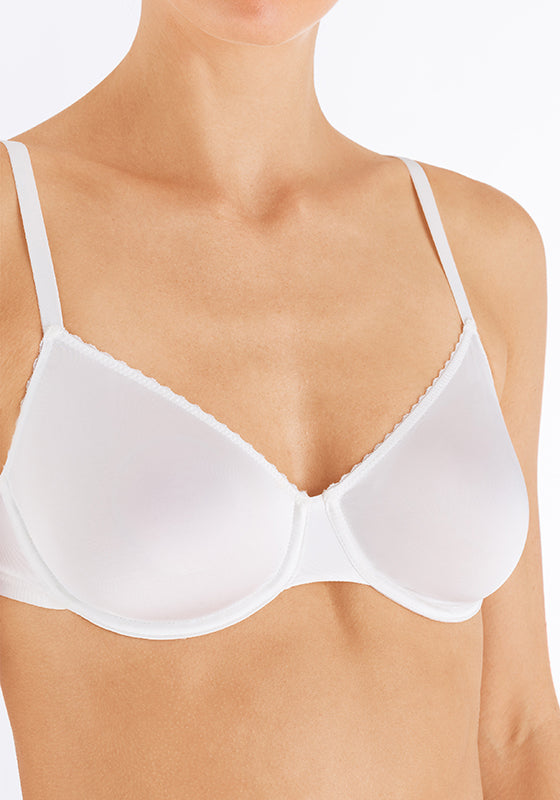 Satin Deluxe - Underwired Bra - HANRO