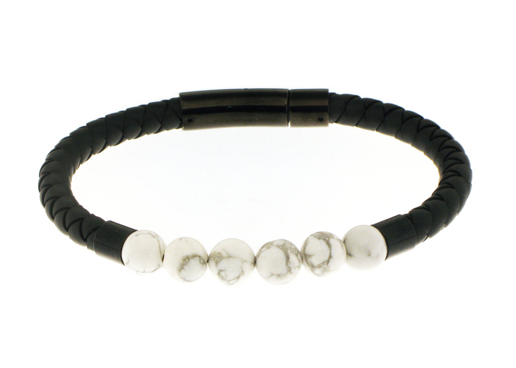 UNKNOWN Silicone Bracelet / Black Accent