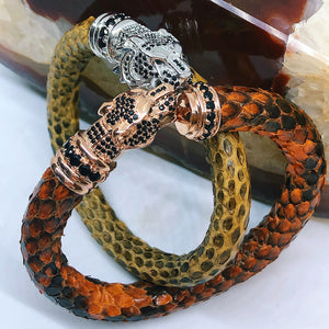 Python Tiger - Orange / Brown