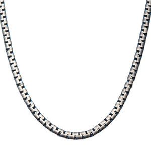 Reversible Curb Chain Colossi Necklace