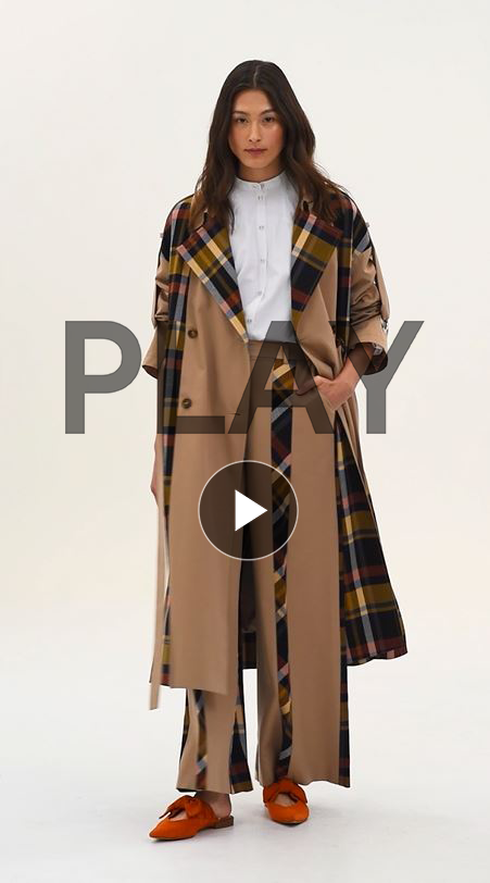 Kimmi Deconstructed Trench