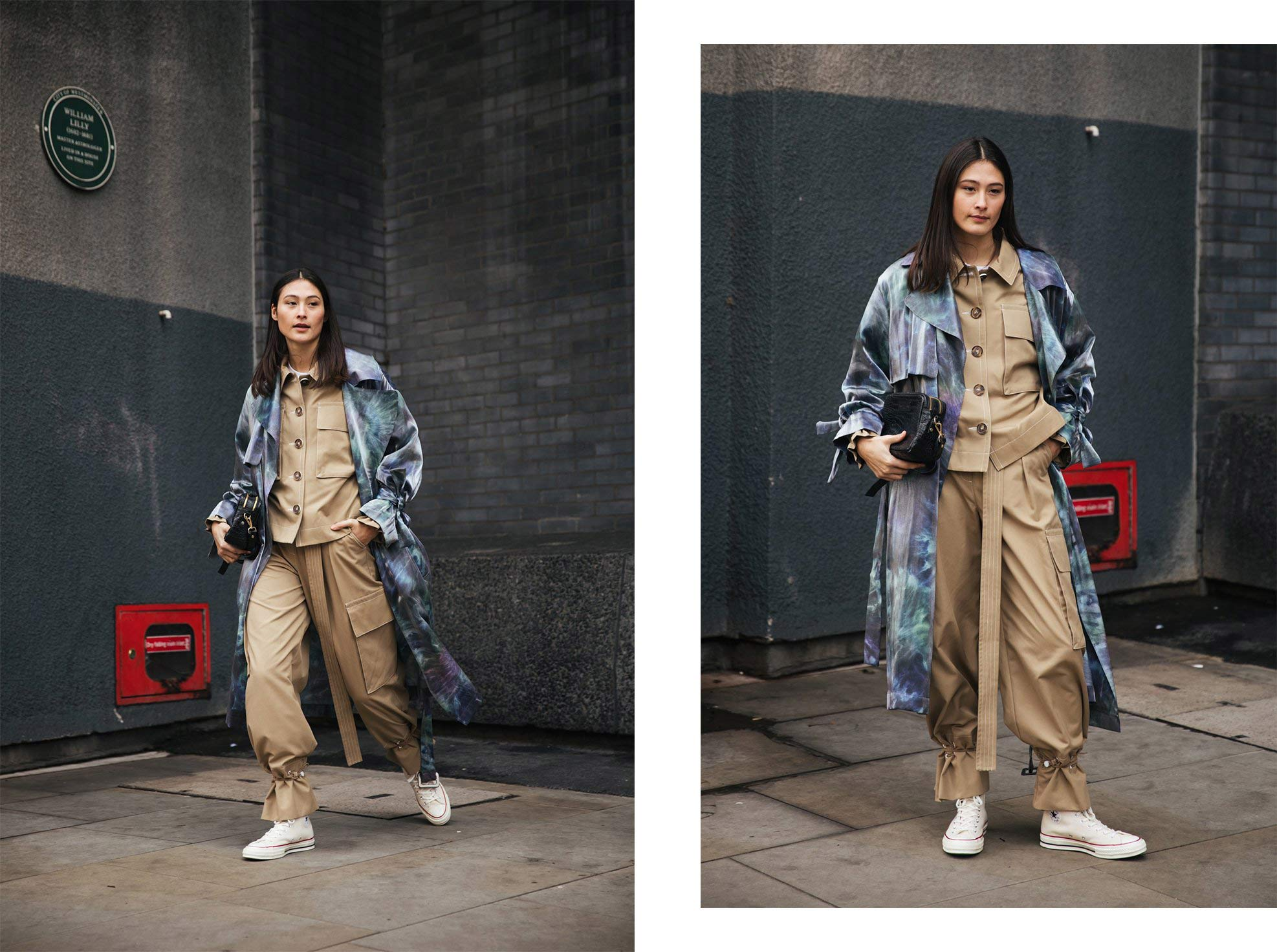 Palones Street-style-Frill-Cuff-Jacket-and-Trousers