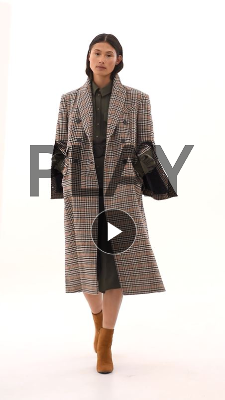 Oversized Kensington City Coat
