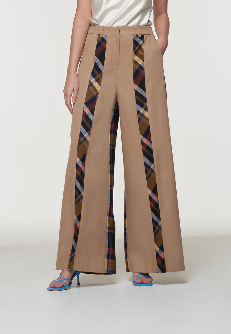Kimmi Deconstructed Wide Leg Trouser