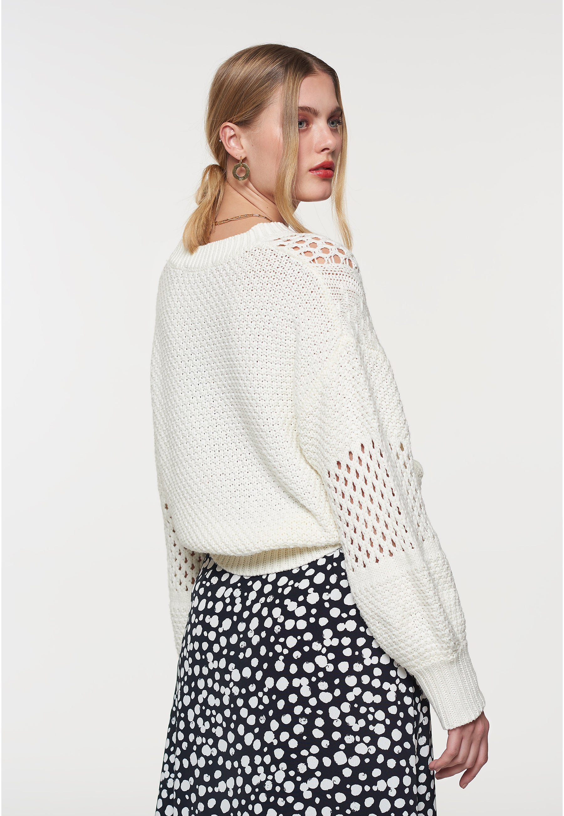 Load image into Gallery viewer, Basket Weave Knit Jumper