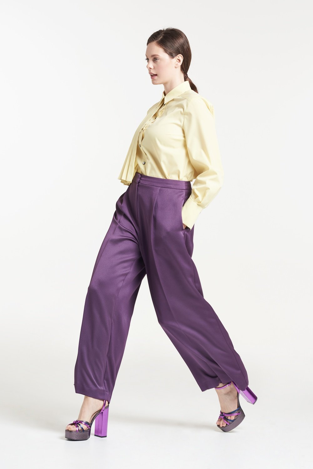 Palones Regenerated Wide Leg Trouser