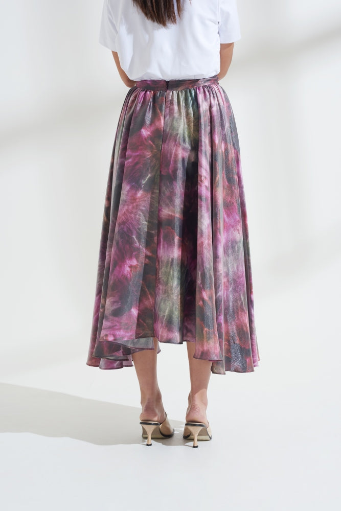 Load image into Gallery viewer, Luna Tie Dye Maxi Skirt