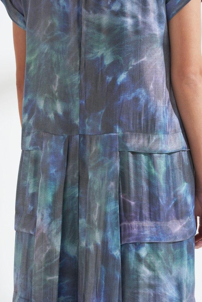 Load image into Gallery viewer, Palones Luna Pleated Tee Dress