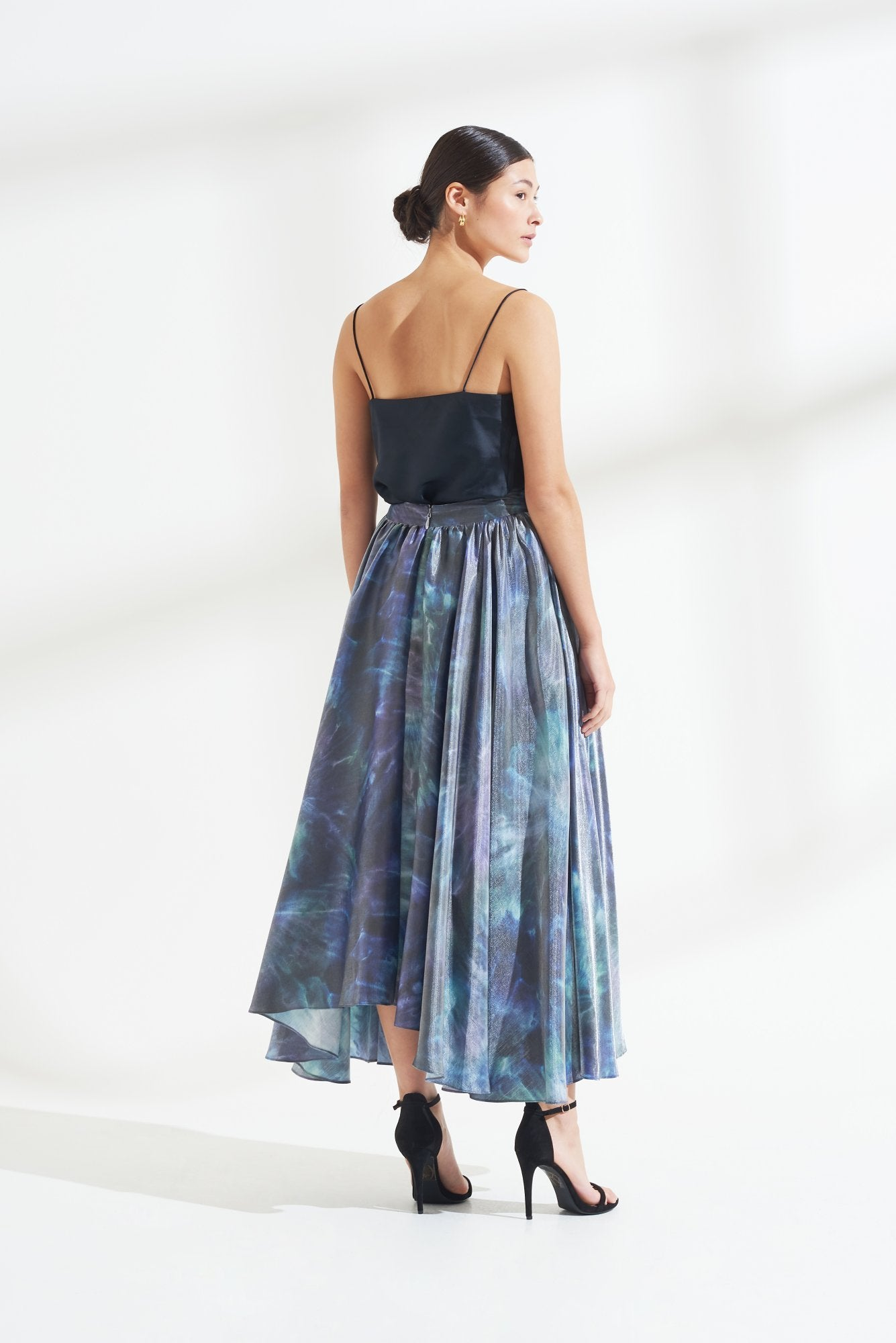 Load image into Gallery viewer, Palones Luna Tie Dye Maxi Skirt