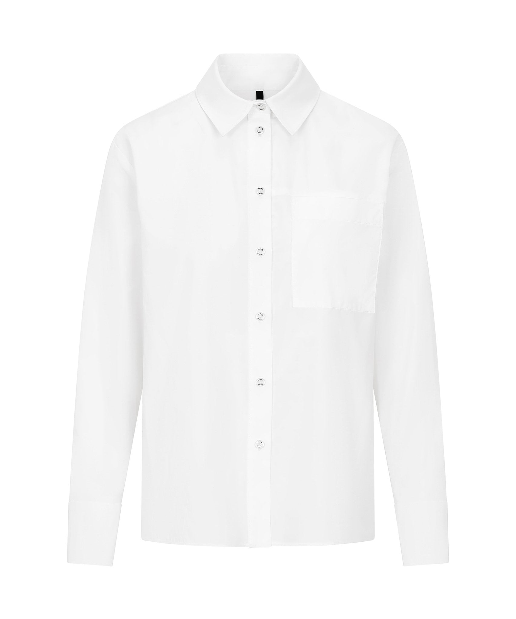 Load image into Gallery viewer, Palones White Wrap Back Poplin Shirt