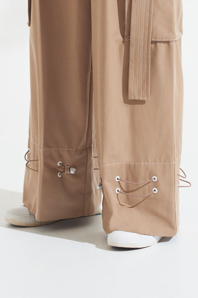Load image into Gallery viewer, Palones Beige Notting Hill Utility Trouser