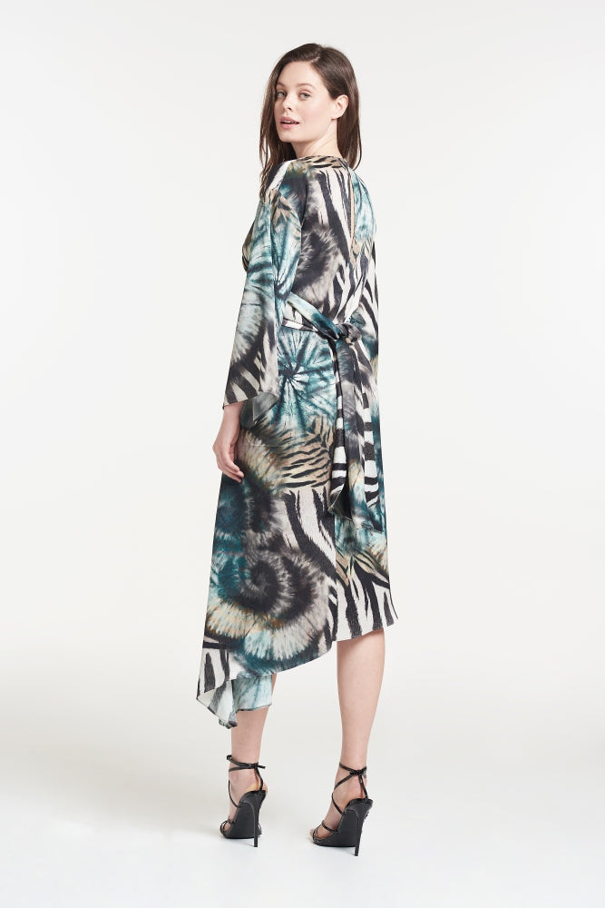 Lisa Tie Dye Midi Dress