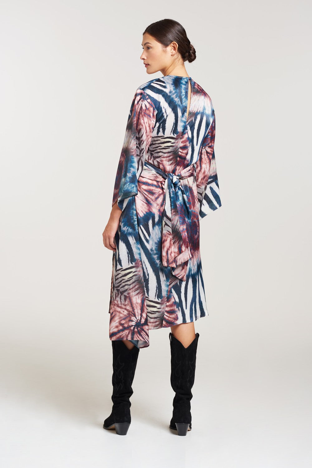 Load image into Gallery viewer, Palones Lisa Tie Dye Midi Dress