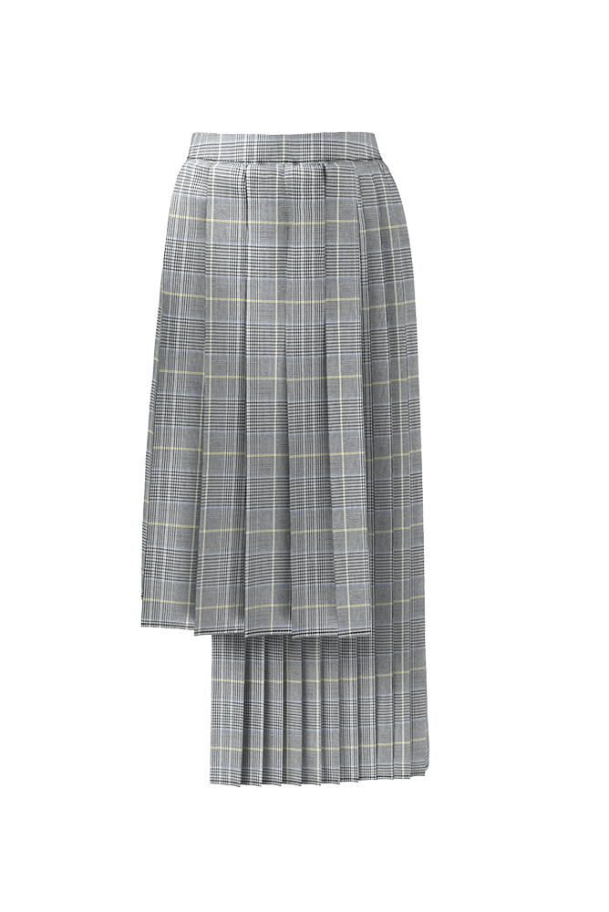 Load image into Gallery viewer, Palones London Fields High Low Pleated Skirt