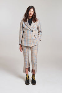 Hoxton Pleat Back Blazer