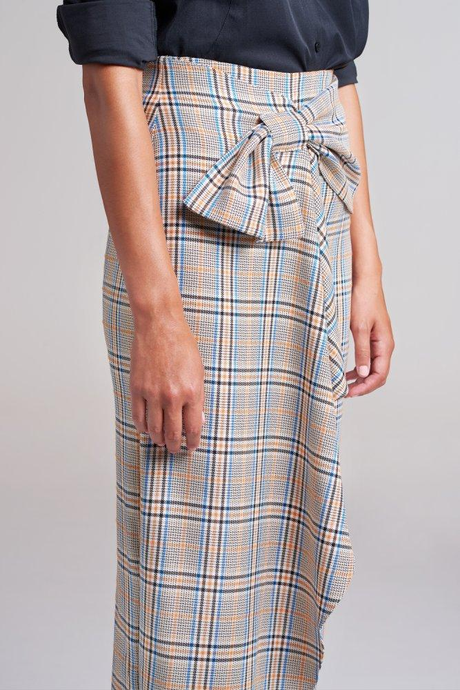 Load image into Gallery viewer, Hoxton Bow Midi Skirt