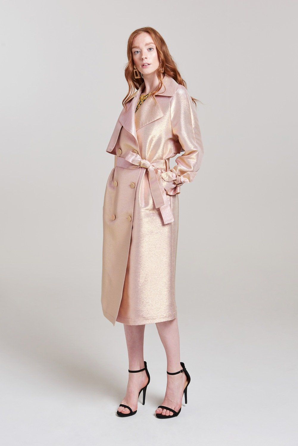 Luna Iridescent Duster