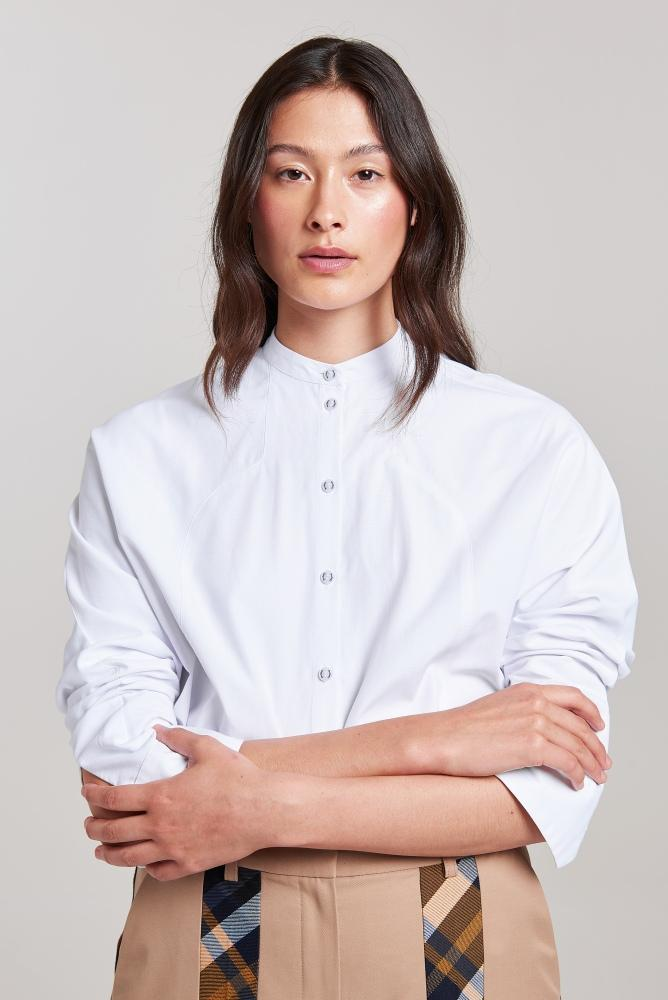 Load image into Gallery viewer, Palones Batwing White Shirt
