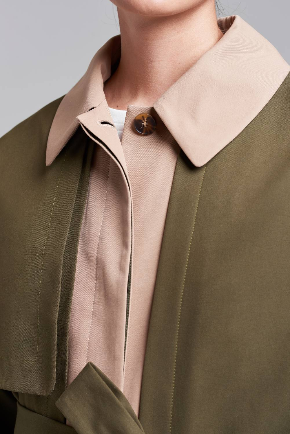Load image into Gallery viewer, Palones Khaki and Stone Notting Hill Utility Trench