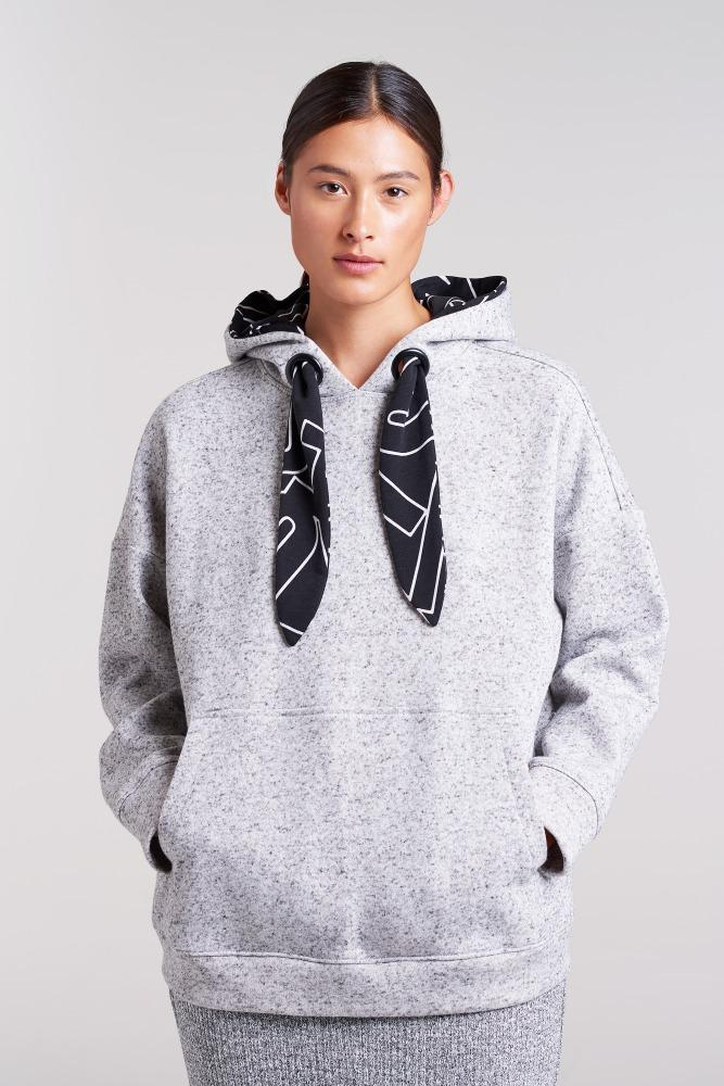Detachable Hood Sweat