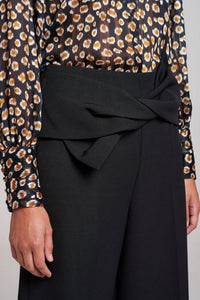 Soho Bow Tie Cropped Trouser
