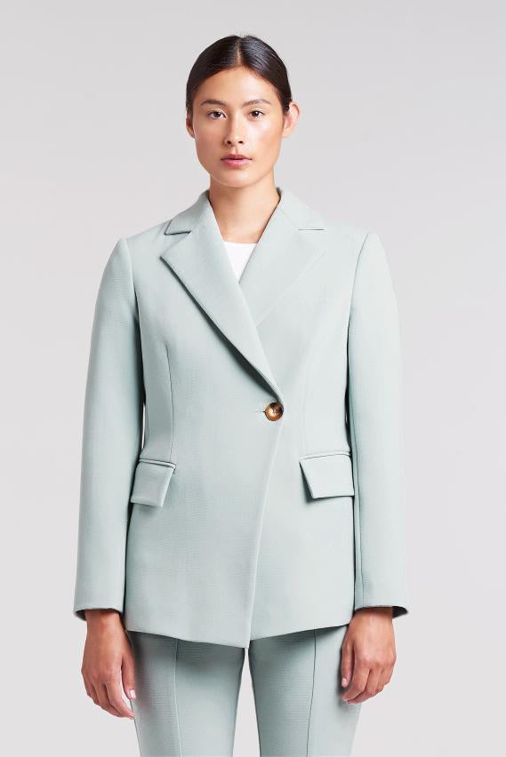 Load image into Gallery viewer, Palones Mint Haggerston Kick Flare Trouser and Blazer