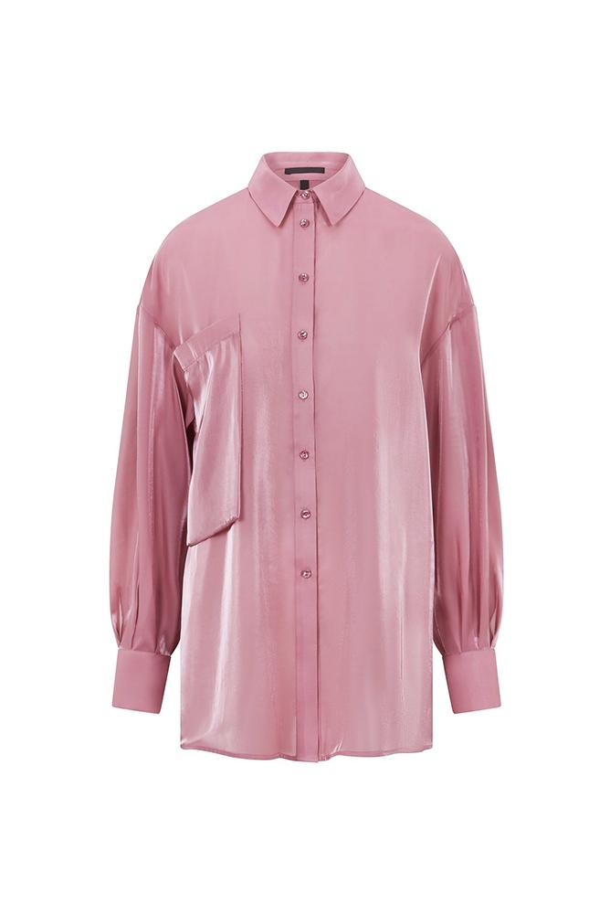 Load image into Gallery viewer, Palones Debbie Organza Oversized Shirt