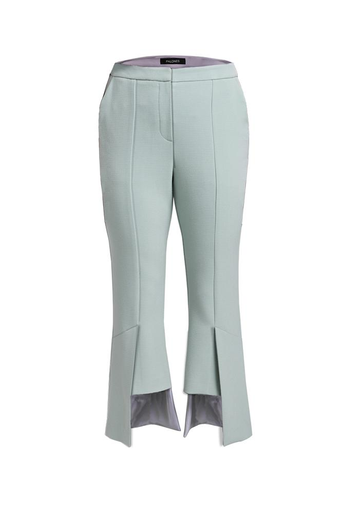 Load image into Gallery viewer, Palones Haggerston Kick Flare Mint Trouser