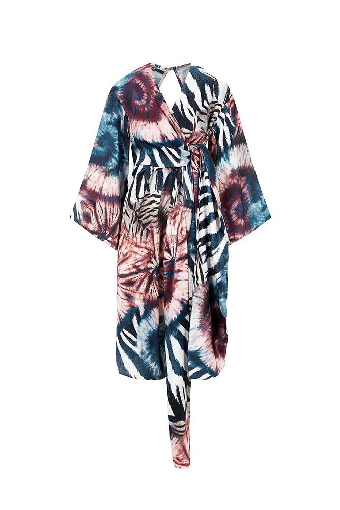Palones Lisa Tie Dye Midi Dress