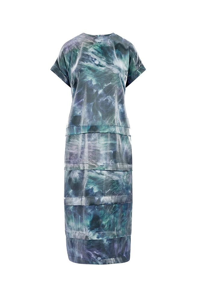 Load image into Gallery viewer, Luna Pleated Tee Dress