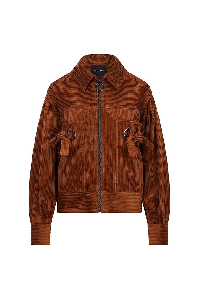 Load image into Gallery viewer, Palones Jumbo Corduroy Crop Jacket