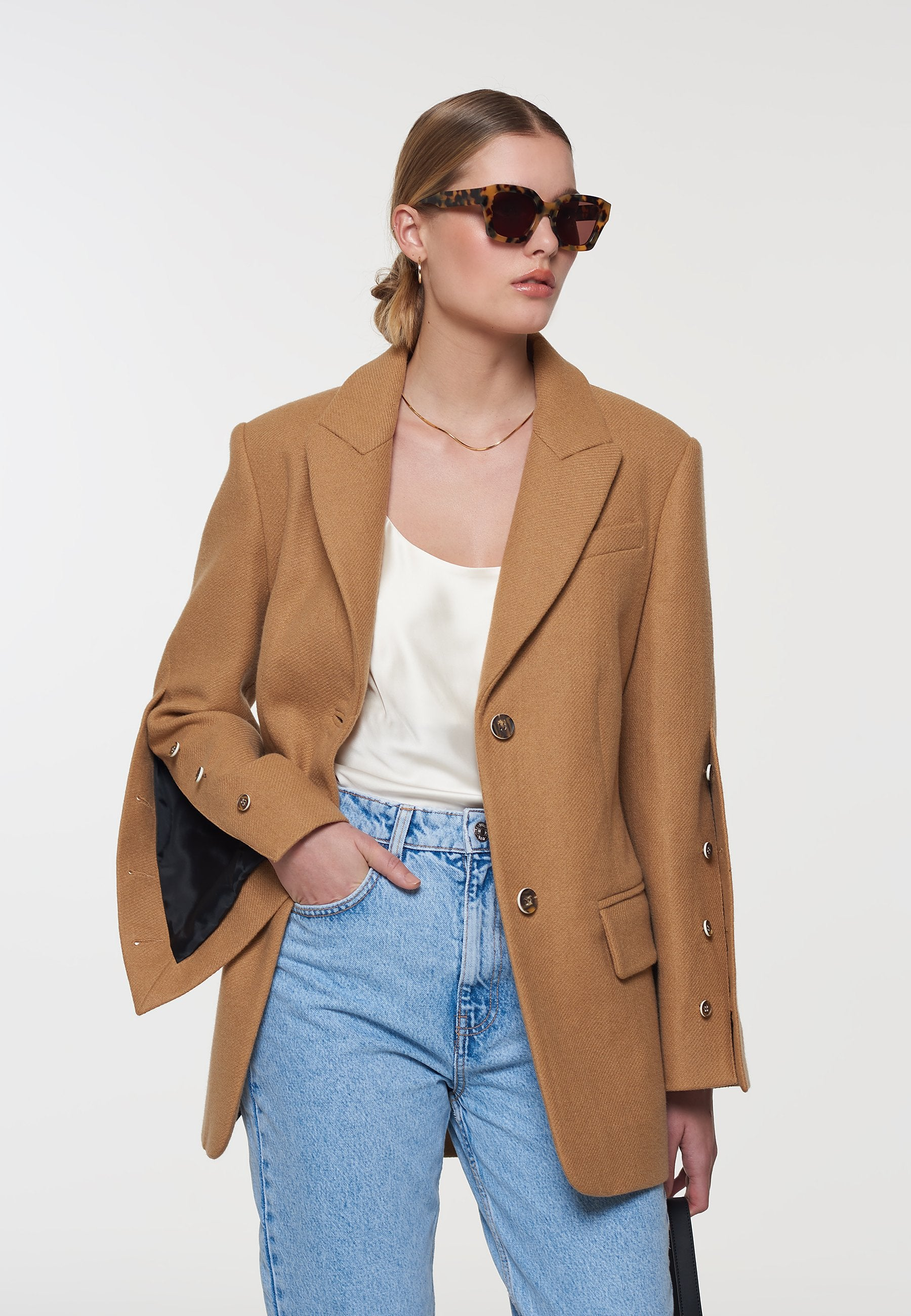 Load image into Gallery viewer, Scarlett Boyfriend Blazer