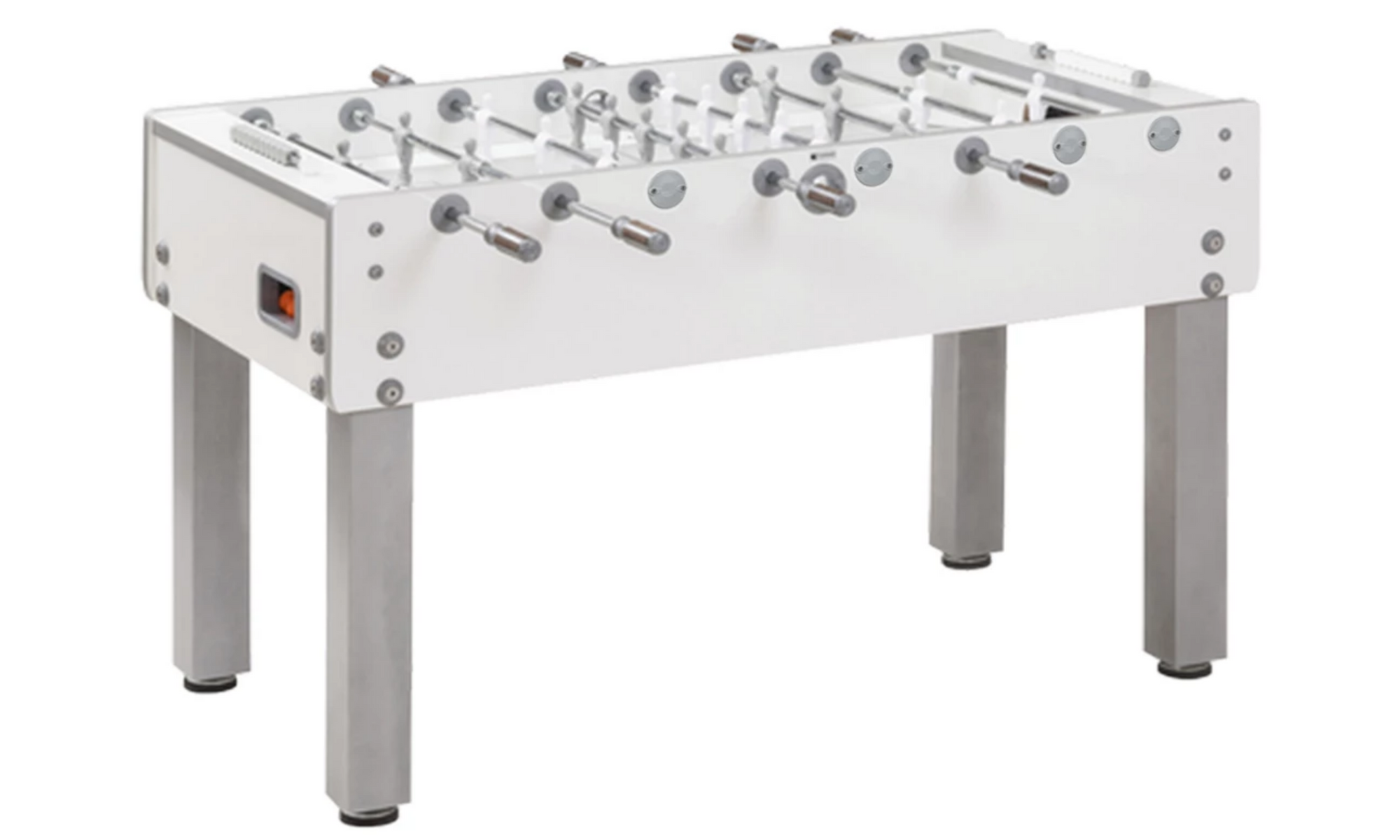 GARLANDO G-500 PURE WHITE FOOSBALL TABLE